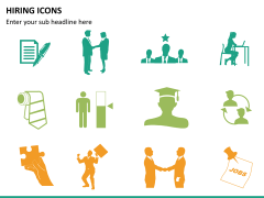 Hiring icons PPT slide 8