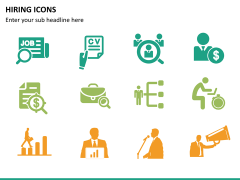 Hiring icons PPT slide 10