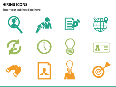 Hiring icons PPT slide 11