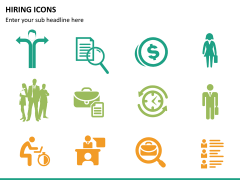 Hiring icons PPT slide 12