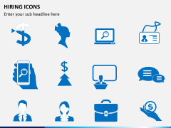Hiring icons PPT slide 3