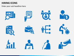 Hiring icons PPT slide 4