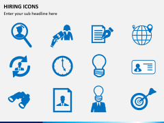 Hiring icons PPT slide 5