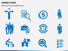 Hiring icons PPT slide 6