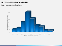 Histogram chart PPT slide 2