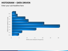 Histogram chart PPT slide 4