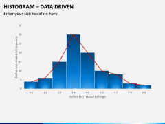 Histogram chart PPT slide 5