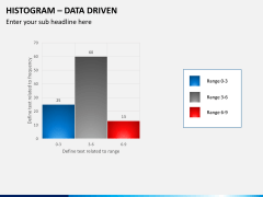 Histogram chart PPT slide 8