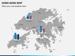 Hongkong map PPT slide 15