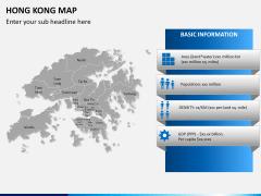 Hongkong map PPT slide 16