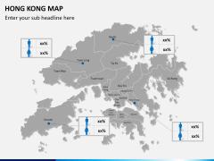 Hongkong map PPT slide 17