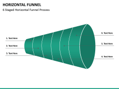Horizontal funnel PPT slide 27