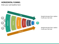 Horizontal funnel PPT slide 20