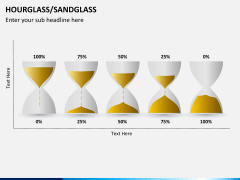 Hourglass/sandglass PPT slide 2