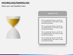 Hourglass/sandglass PPT slide 3