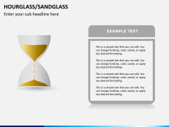 Hourglass/sandglass PPT slide 4