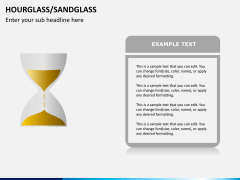 Hourglass/sandglass PPT slide 5