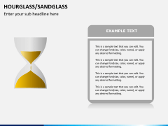 Hourglass/sandglass PPT slide 6