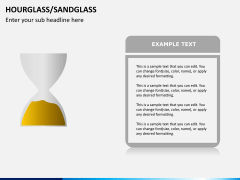 Hourglass/sandglass PPT slide 7