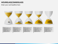 Hourglass/sandglass PPT slide 8