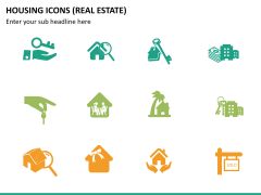Housing Icons Icons PPT slide 8