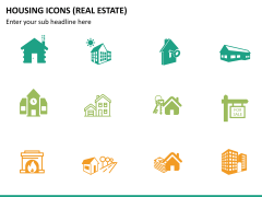 Housing Icons Icons PPT slide 9