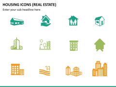 Housing Icons Icons PPT slide12