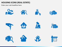 Housing Icons Icons PPT slide 1