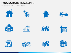 Housing Icons Icons PPT slide 2