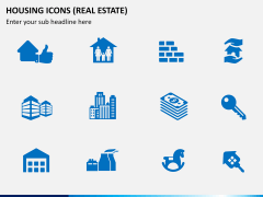 Housing Icons Icons PPT slide 3