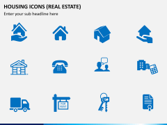 Housing Icons Icons PPT slide 6