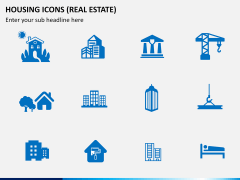 Housing Icons Icons PPT slide 7