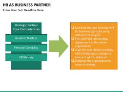 HR as Business Partner PPT slide 22