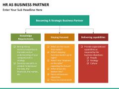 HR as Business Partner PPT slide 18