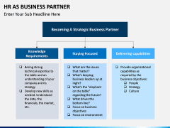 HR as Business Partner PPT slide 6