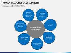 Human resource development PPT slide 1