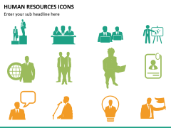 HR icons PPT slide 8