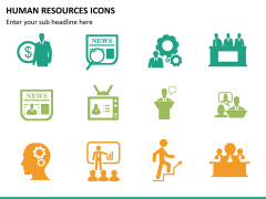 HR icons PPT slide 9