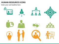 HR icons PPT slide 10