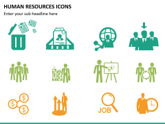 HR icons PPT slide 11