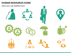 HR icons PPT slide 12