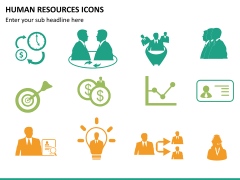 HR icons PPT slide 14