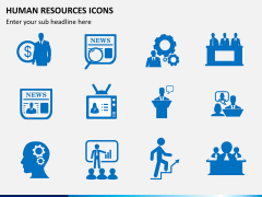 HR icons PPT slide 2