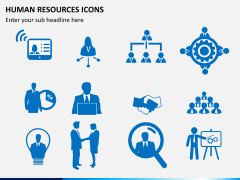 HR icons PPT slide 3