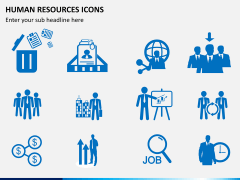 HR icons PPT slide 4