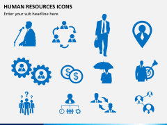 HR icons PPT slide 5