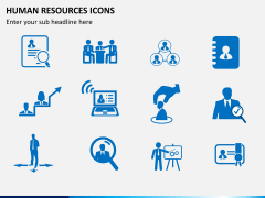 HR icons PPT slide 6