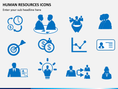 HR icons PPT slide 7