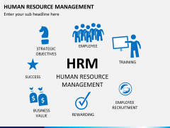 HR management PPT slide 2