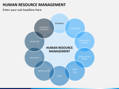 HR management PPT slide 5